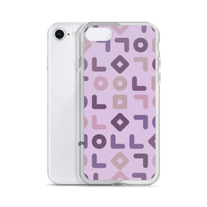 Very Berry Shapes iPhone Case