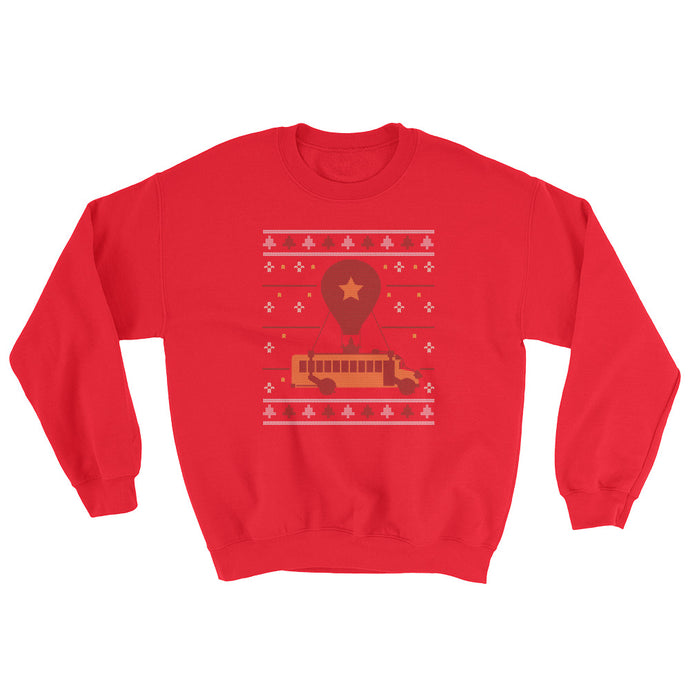 Fortnite Battlebus Ugly Sweater