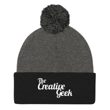Load image into Gallery viewer, The Creative Geek Pom Pom Knit Cap