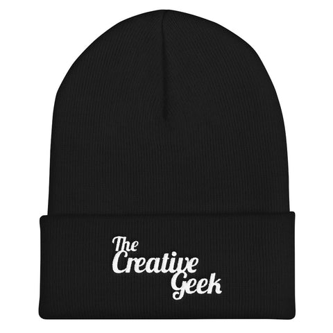 The Creative Geek Cuffed Beanie