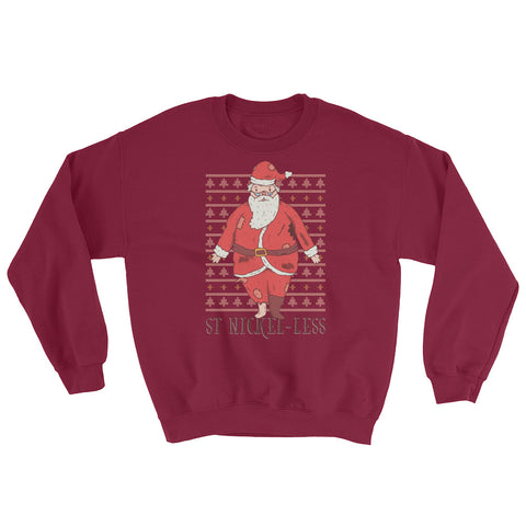 St. Nickel-Less Ugly Sweater