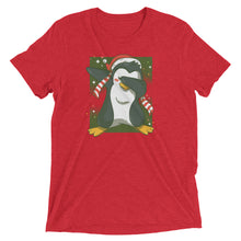 Load image into Gallery viewer, Dabbing Christmas Cap Tri-Blend Tee