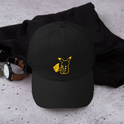 Pika Pika Embroidered Dad Hat