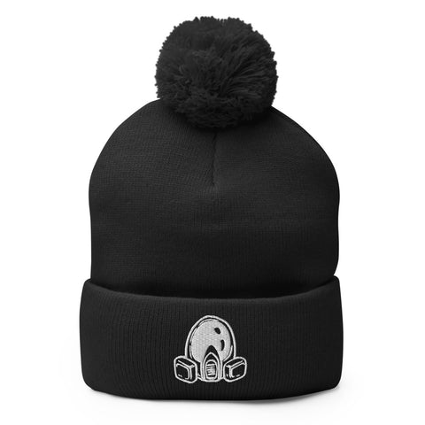 Breaking Bad Gas Mask Pom-Pom Beanie