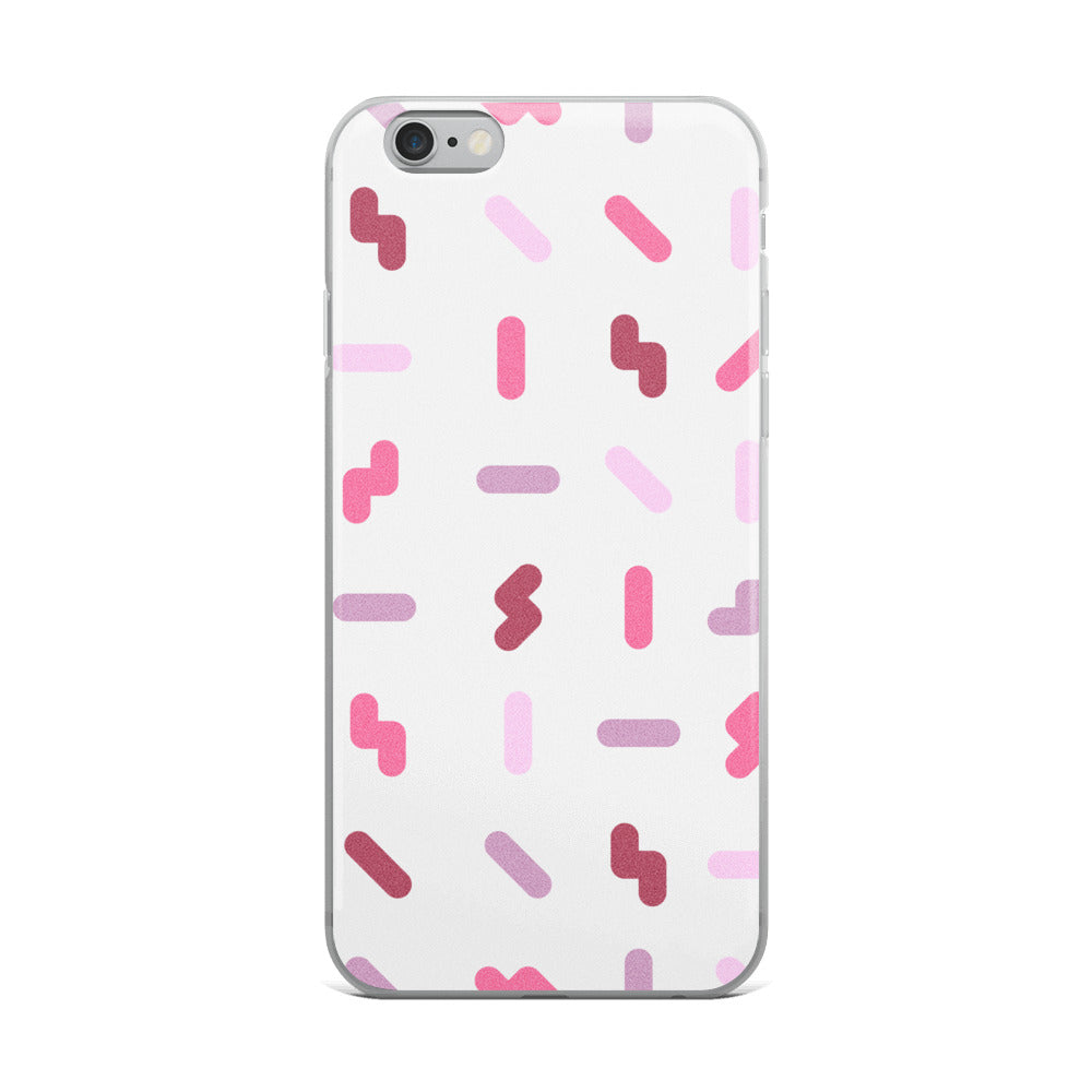 Berry Squiggles iPhone Case