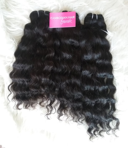 Cambodian Deep Wave Hair Extensions | Bundle Deal - CambodianHair Freak LLC
