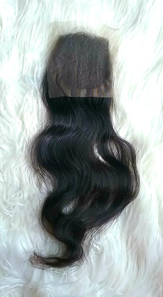Lace Closure Hair Extensions | 4x4 - CambodianHair Freak LLC