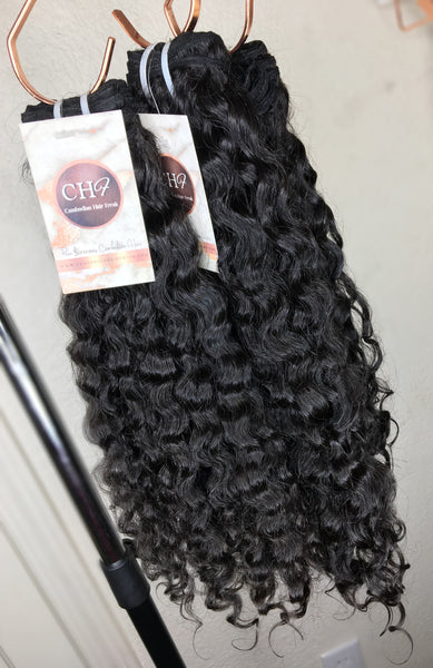 Cambodian Curly Hair Extensions | Bundle Deal - CambodianHair Freak LLC