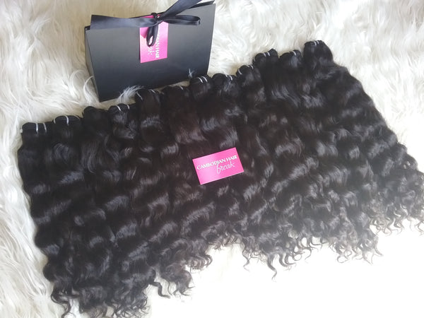 Pure Cambodian Deep Wave Hair Extensions - CambodianHair Freak LLC