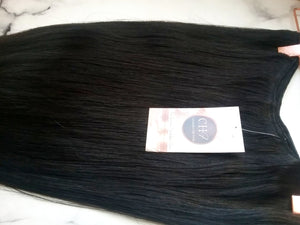 Pure Cambodian Natural Straight Hair Extensions - Cambodian Hair Freak LLC
