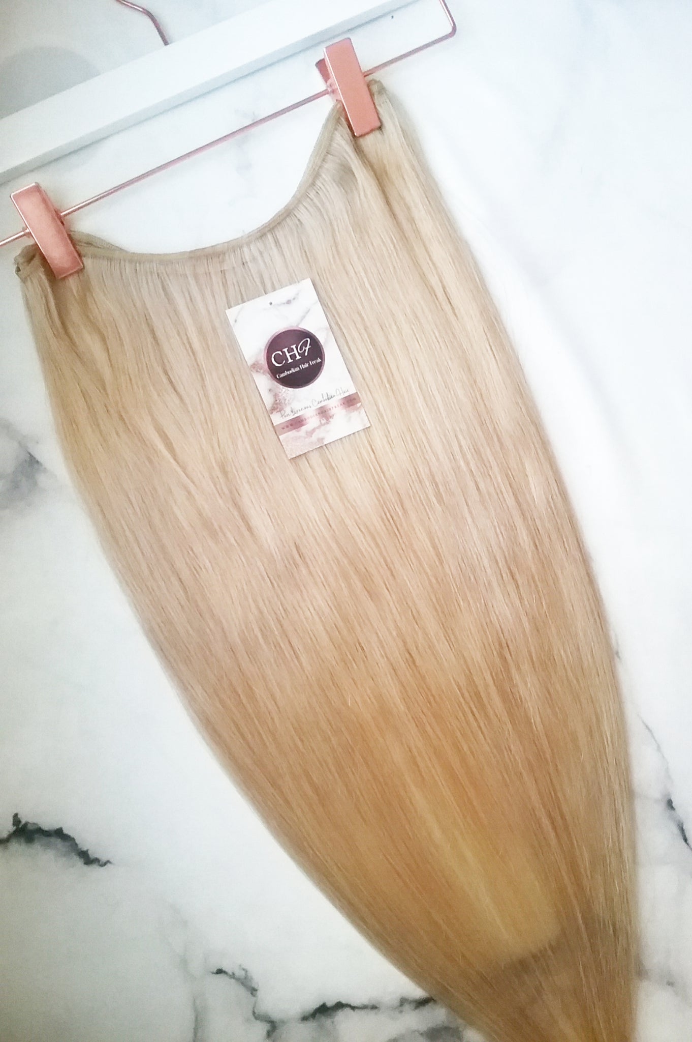 Cambodian Ash Blonde Hair Extensions | Bundle Deal - CambodianHair Freak LLC