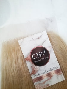 Cambodian Blonde Lace Closure | 4x4 - Cambodian Hair Freak LLC
