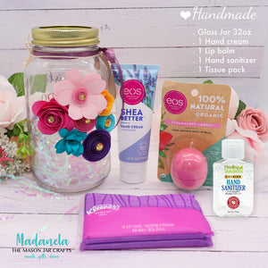 Essential Gift Set For Back To School, Self Care Set, Quart Size Ball Mason Jar