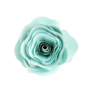 Paper Rose Flower For Weddings, Backdrop, Baby Shower, Nursery Decoration, Wall Collage
