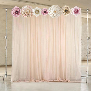 Flower For Weddings, Backdrop, Baby Shower, Quinceanera, Sweet Sixteen
