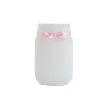 Load image into Gallery viewer, Mason Jars - Glitter Decorated Jars - Center Piece, Weddings, Sweet Sixteen, Quinceanera