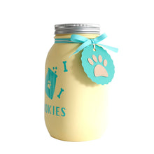 Load image into Gallery viewer, Decorated Mason Jar For Pet's Treats Dogs/Cats