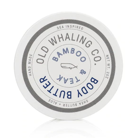 Bamboo & Teak Body Butter by the Old Whaling Company