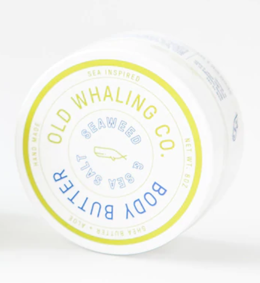Seaweed & Sea Salt Body Butter by the Old Whaling Company