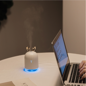 Little Reindeer Humidifier + Essential Oil Diffuser + Night LED Lamp