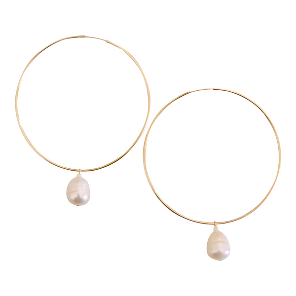 Freshwater Pearl Earring | MONFORM by Jomay Cao