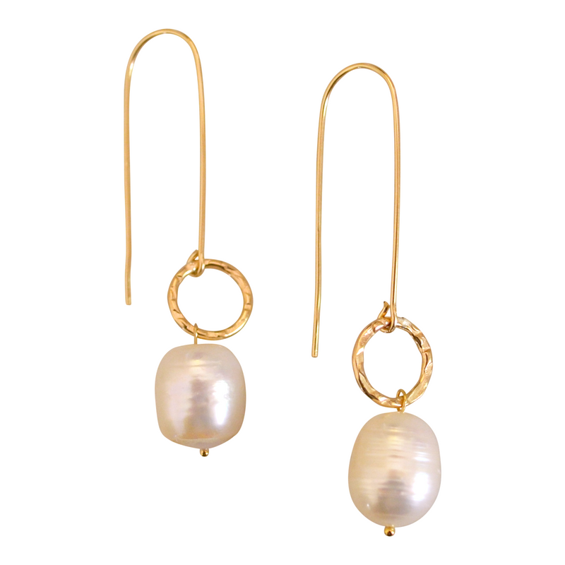 Freshwater Pearl Earring | MONFORM Jewellery by Jomay Cao