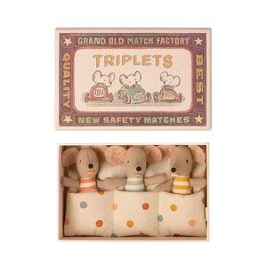Baby Triplets in a Box