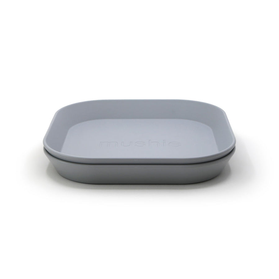 Plato cuadrado Cloud, Set de 2