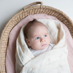 Swaddle Rainbow Sky