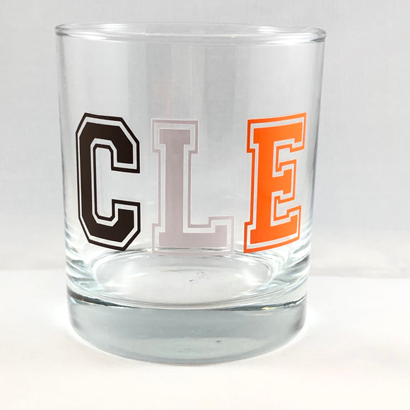 Cleveland Browns CLE High Ball Glass