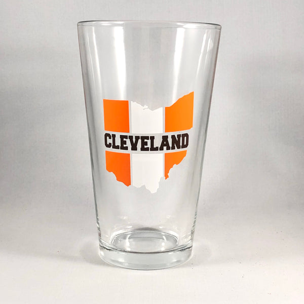Cleveland Pint Glass