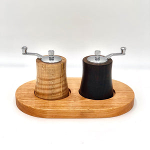 Pepper Grinder, Thomas Fine Woodworks, Salt Grinder, Salt and Pepper Shaker, Peppermill, Salt Shaker, Aaron Thomas