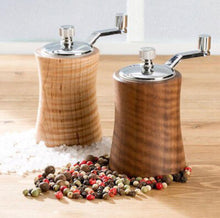 Load image into Gallery viewer, Pepper Grinder, Thomas Fine Woodworks, Salt Grinder, Salt and Pepper Shaker, Peppermill, Salt Shaker, Aaron Thomas