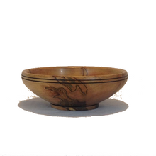 Load image into Gallery viewer, Hand Turned Ambrosia Maple Bowl