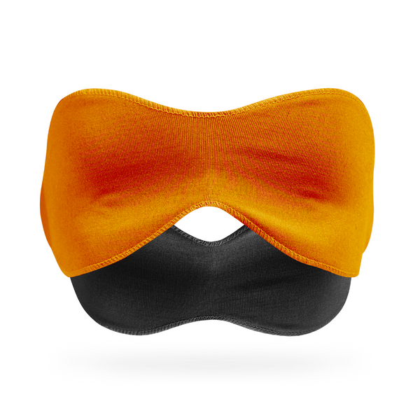 3-in-1 Sleep Mask, Orange