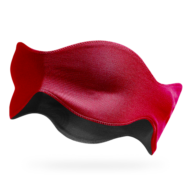 3-in-1 Sleep Mask, Red