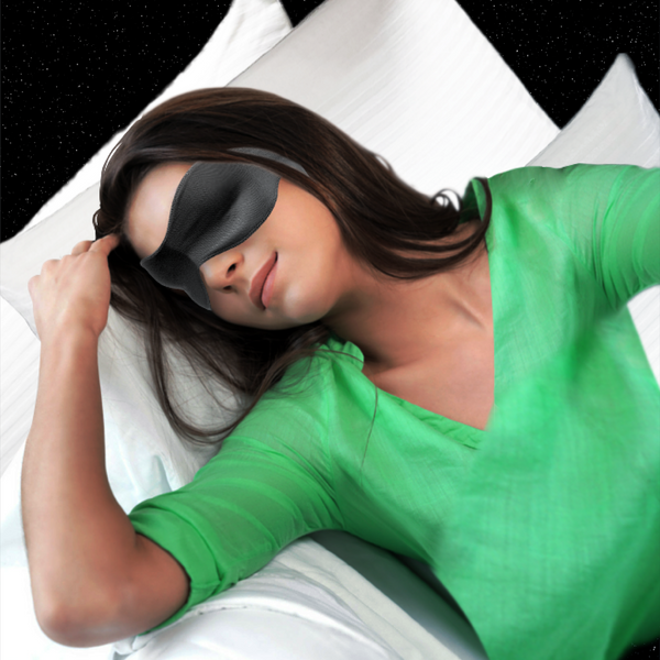 3-in-1 Sleep Mask, Navy