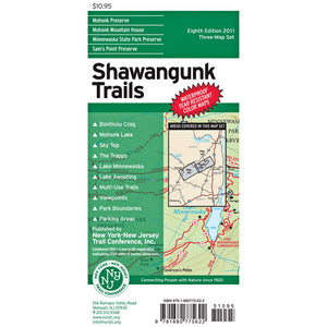 Shawagunk Trails Map