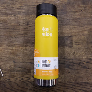 Klean Kanteen Wide Insulated Cafe Cap 20 oz