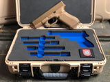 NANUK Tan 910 Glock™ G19X / G45 Custom Case by VARTAC™