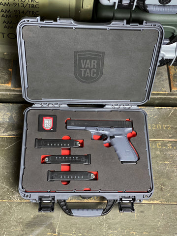 NANUK 910 Glock™ G20 G4 10mm Custom Case by VARTAC™