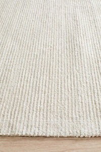 Caribe Ivory Cotton Rayon Rug