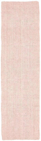 Costa Basket Pink Runner Rug