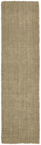 Costa Basket Silver Runner Rug