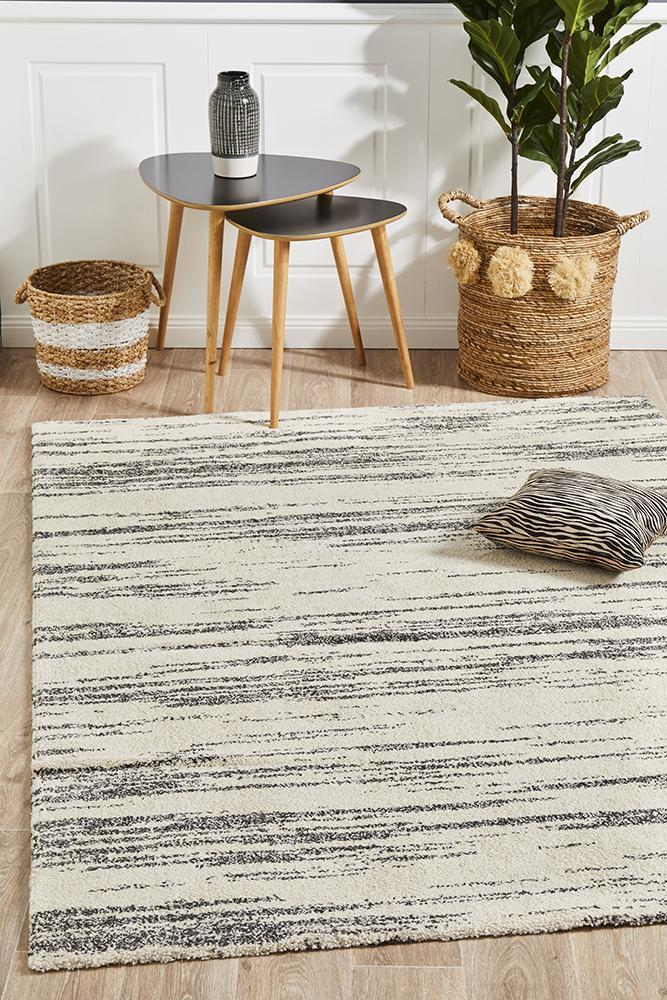 Rug Culture Broadway 933 Charcoal