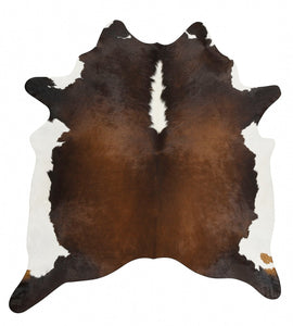 Natural Cow Hide Chocolate Rug