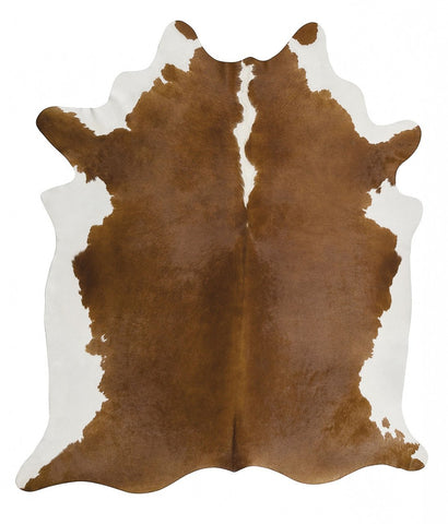 Natural Cow Hide Hereford Rug