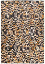 Dreamscape Flurry Modern Charcoal Rug