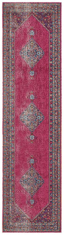 Persa Diamond Pink Runner Rug