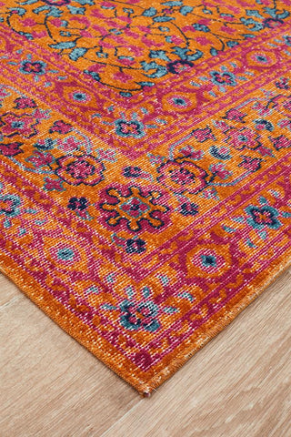 Persa Sunset Rust Rug